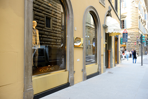 Gucci store in Florence