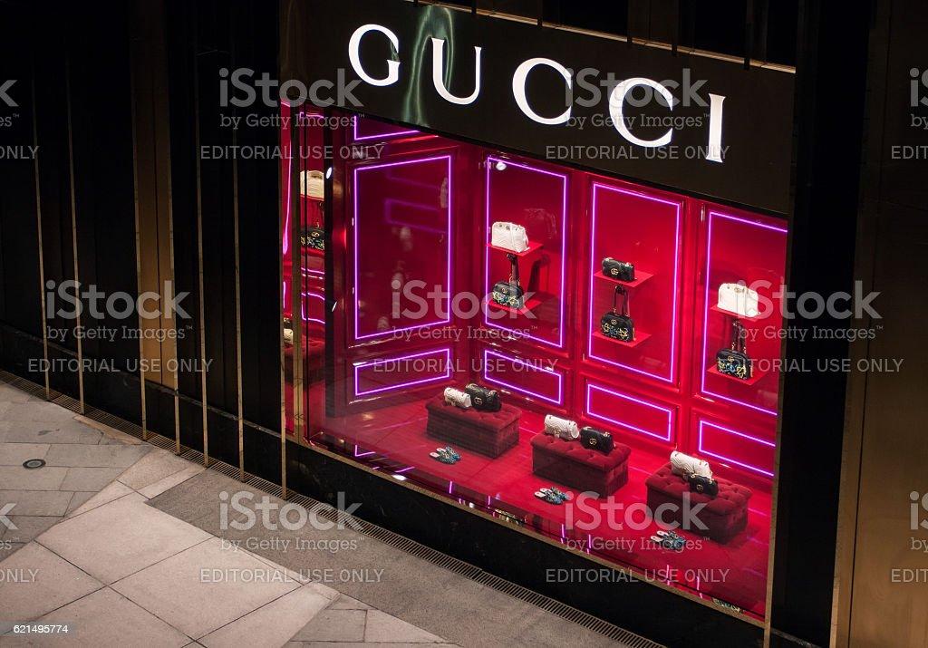 Gucci-store  Lizenzfreies stock-foto