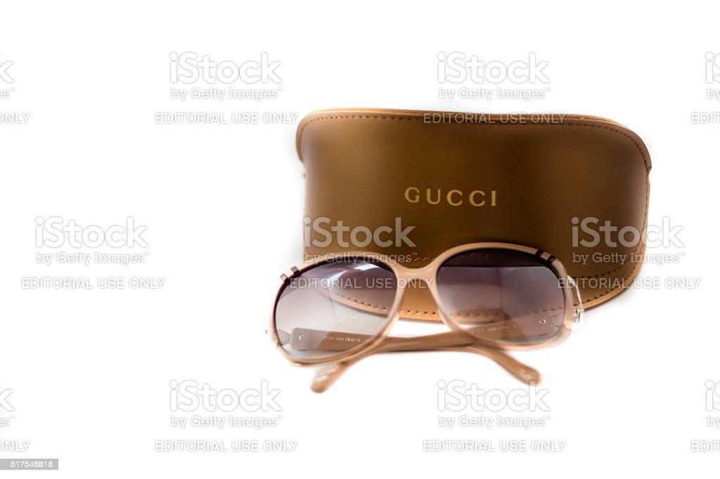 Gucci Sunglass stock photo