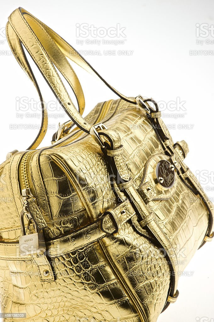 Gucci Women Leather Bag stock photo