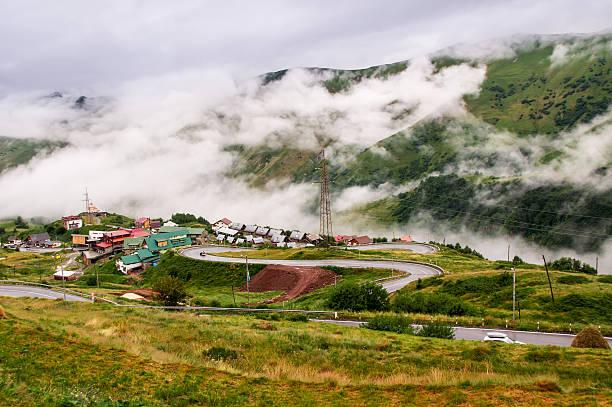 Gudauri, Kaukasus, Georgien – Foto