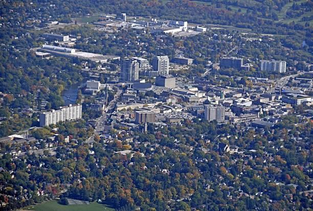 Guelph Ontario, aerial – Foto