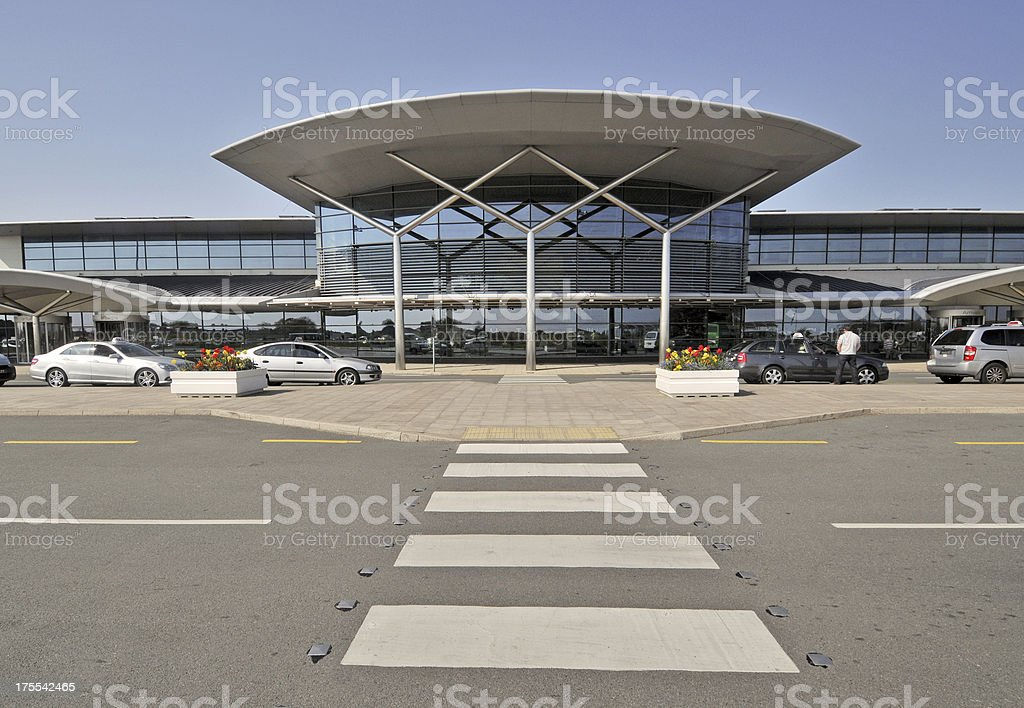 Guernsey Airport, Channel Islands stock photo