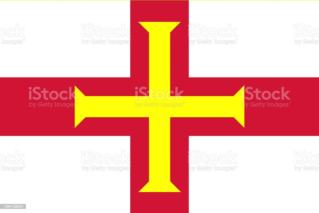 Guernsey flag stock photo