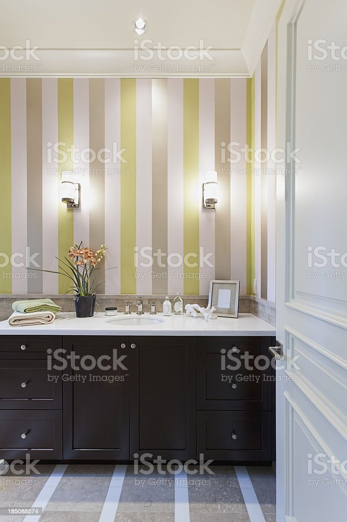 Guest Bathroom royalty-free stock photo