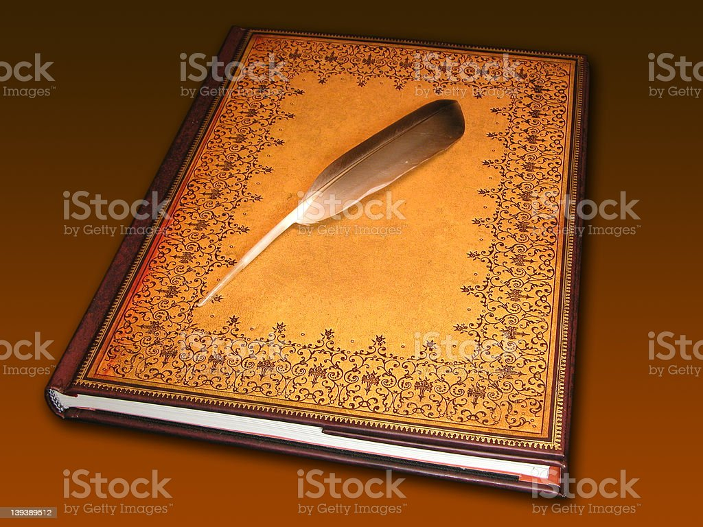 Guestbook stock photo
