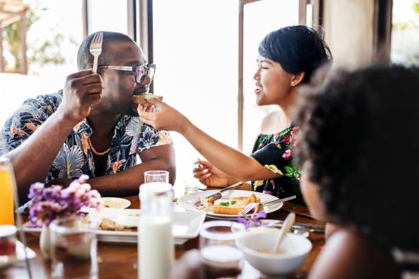 Vous pourrez prendre le petit-déjeuner au restaurant de l'hôtel - Photo