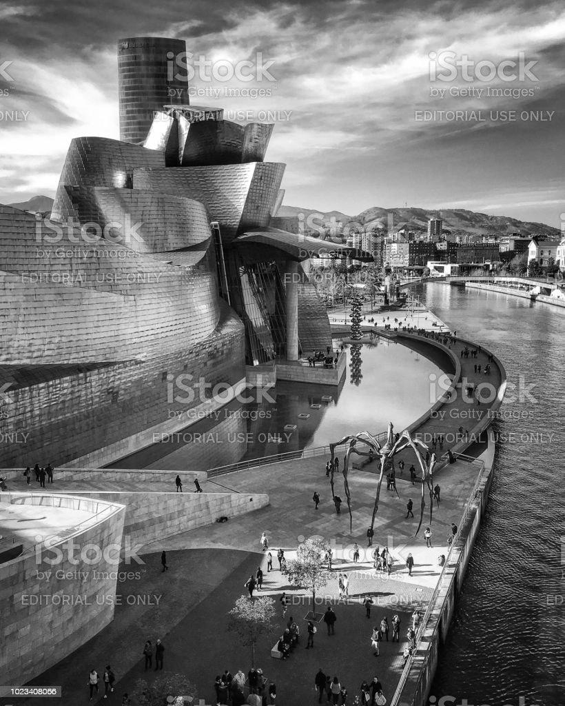 Guggenheim de Bilbao - foto de stock