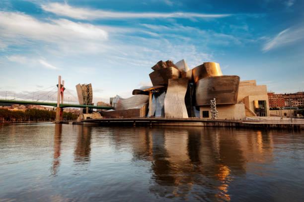 Guggenheim Bilbao Spain stock photo