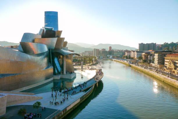 Guggenheim Museum, Bilbao, Basque Country stock photo