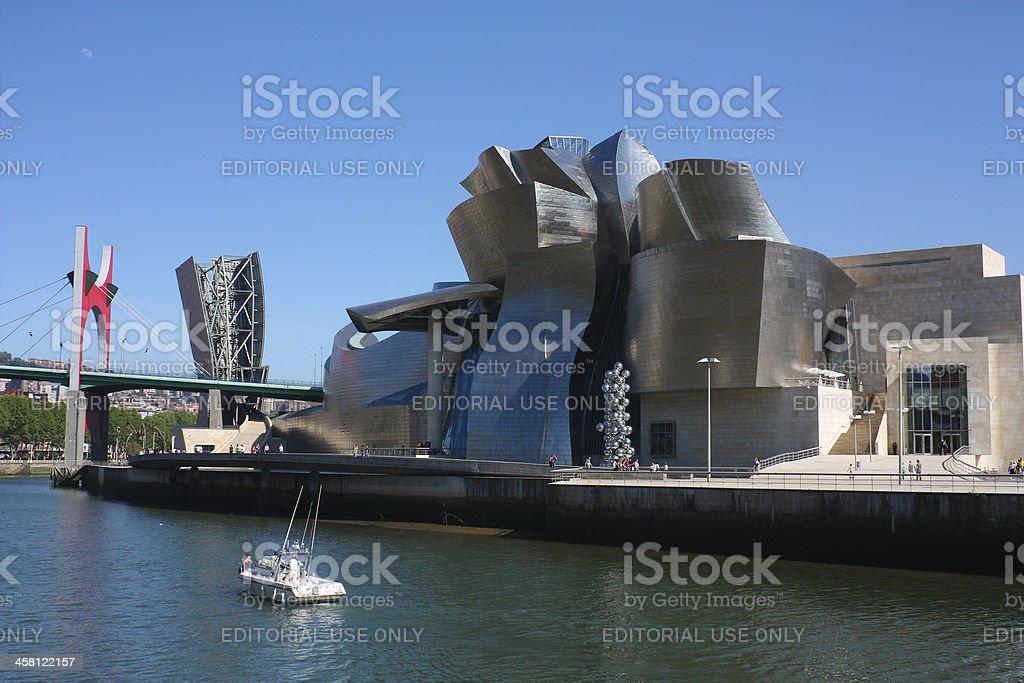 Guggenheim Museum, Bilbao royalty-free stock photo