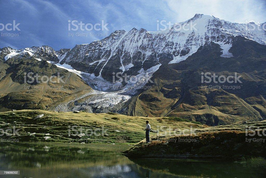 Guggi lake royalty-free stock photo