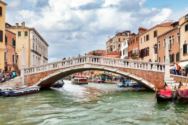 Guglie Bridge in Venice stock photo