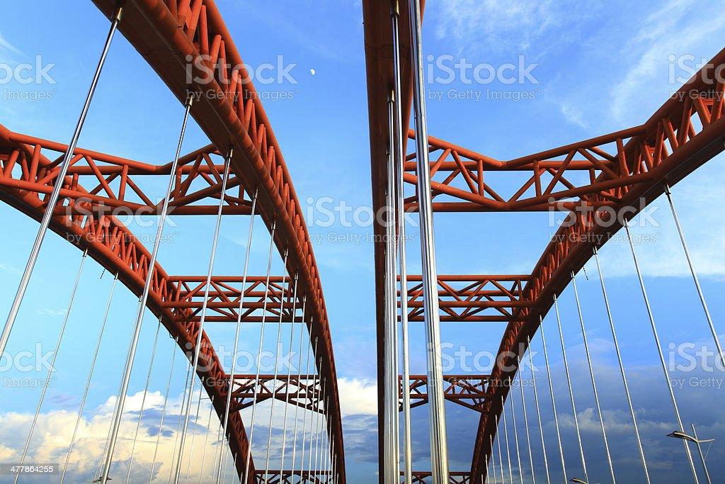 Gui mo Bridge in Guilin ,China royalty-free stock photo