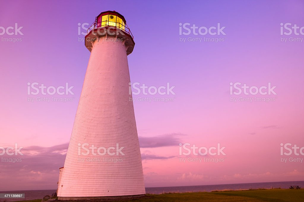 Guidance on the rough seas royalty-free stock photo