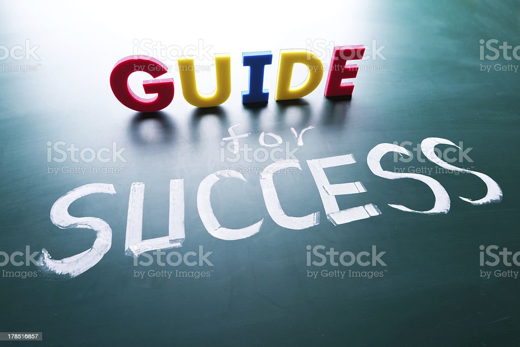 Guide for success concept royalty-free stock photo
