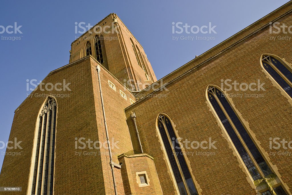 Guildford Cathedral royalty-free stock photo
