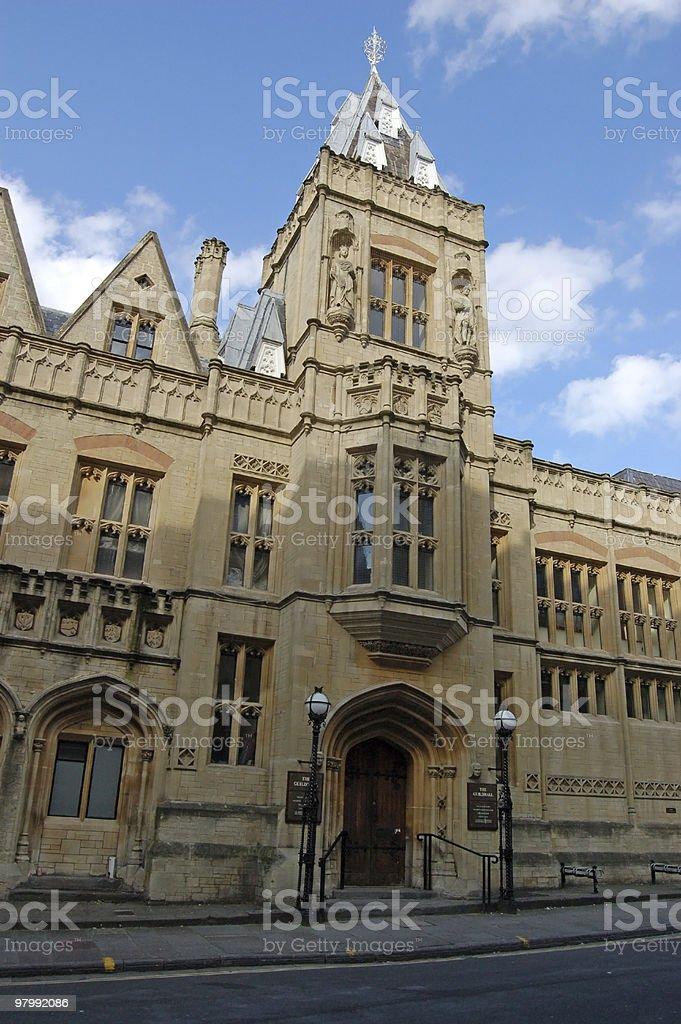 Guildhall, Bristol royalty-free stock photo