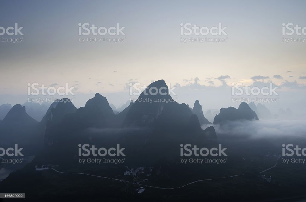 guilin china royalty-free stock photo