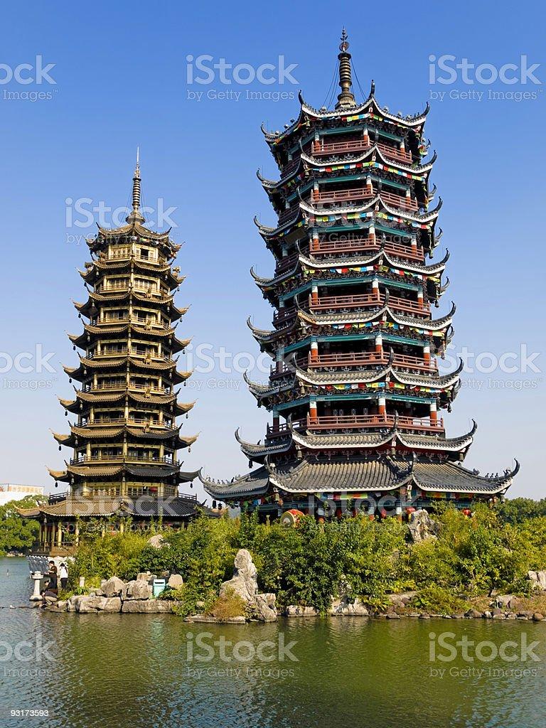 Guilin City Scene, China royalty-free stock photo