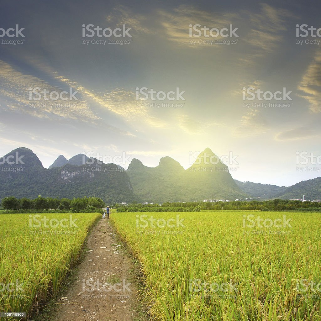 Guilin mountains royalty-free stock photo