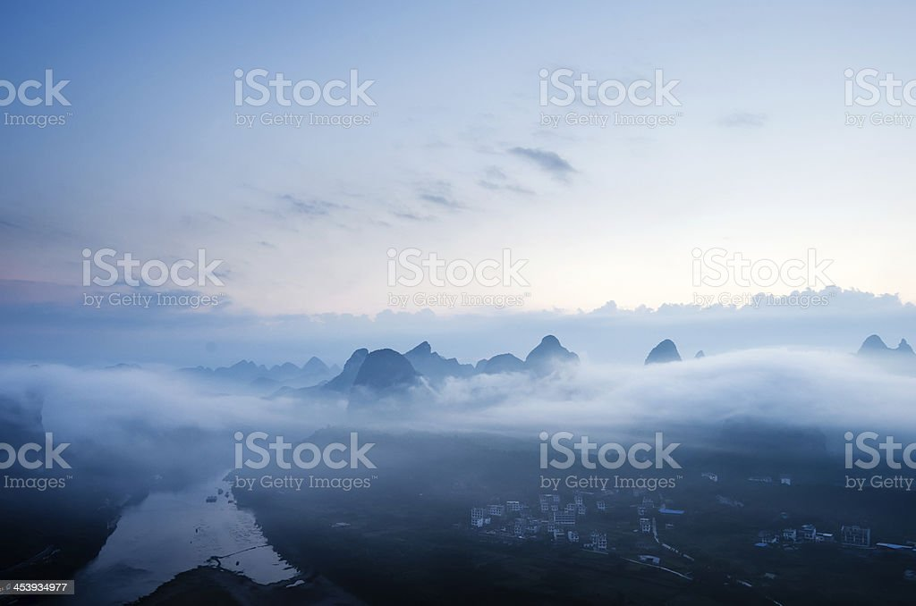 guilin stock photo