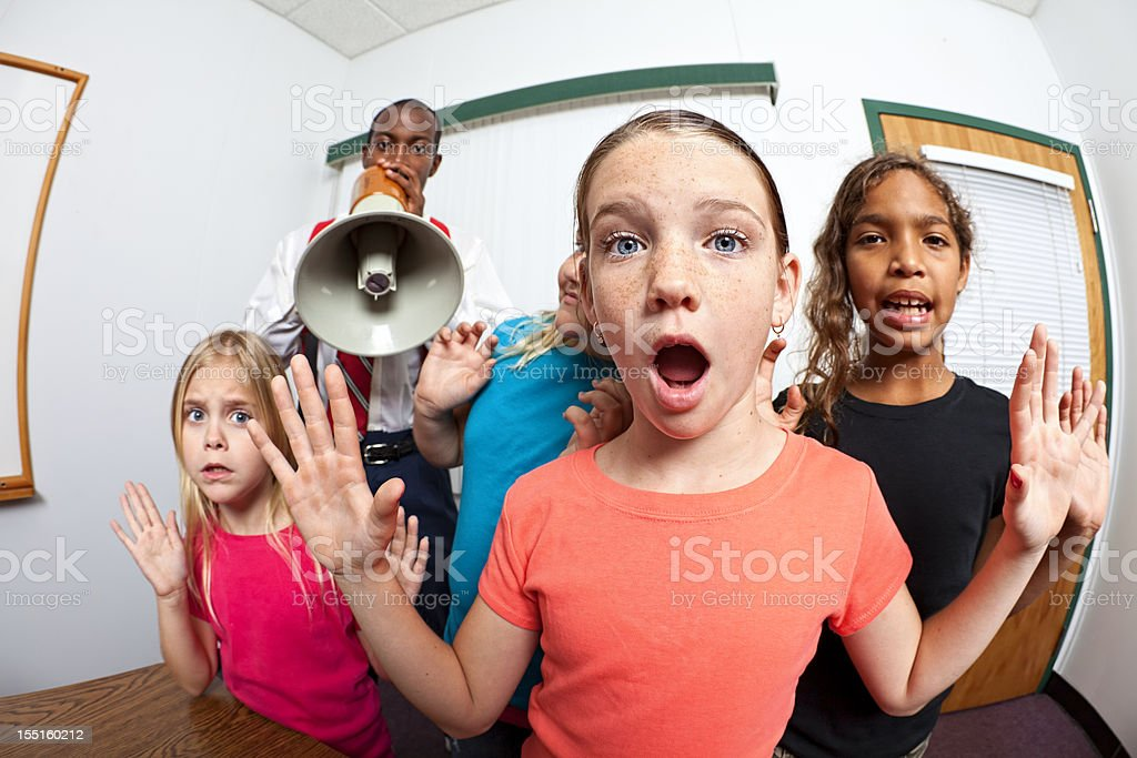 Guilty royalty-free stock photo