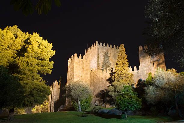 Guimarães Castle stock photo