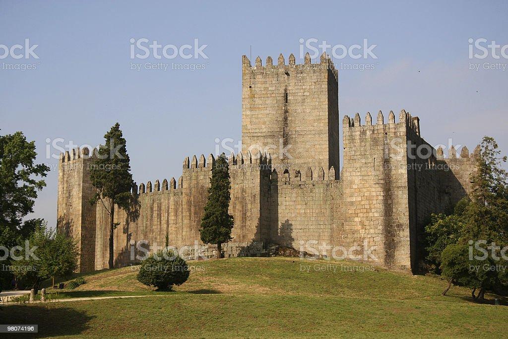 Castello Guimarães foto stock royalty-free