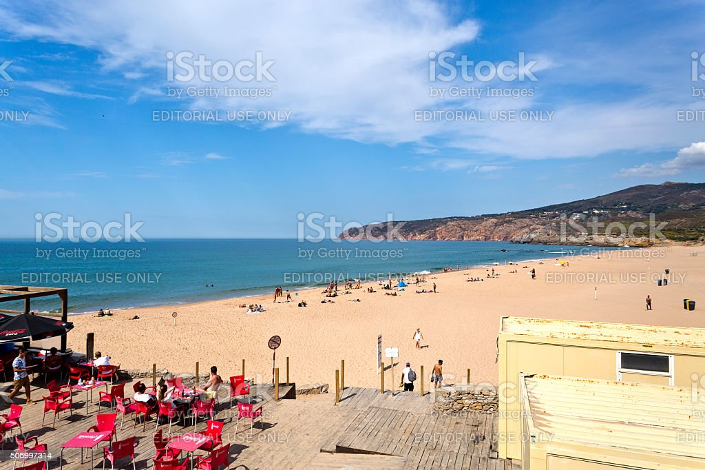Guincho Beach, Portugal stock photo