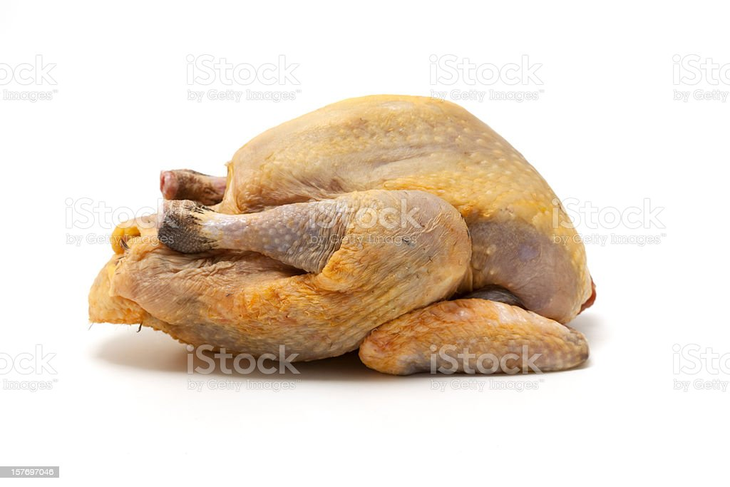 guinea fowl chicken royalty-free stock photo