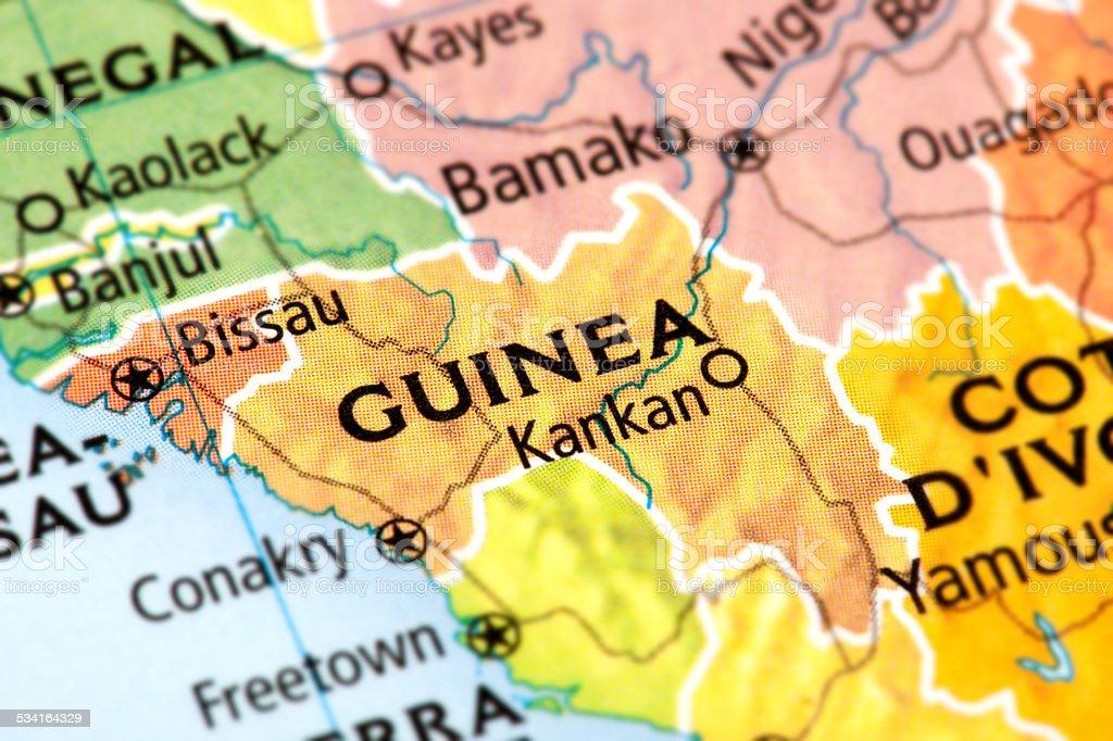 Guinea stock photo