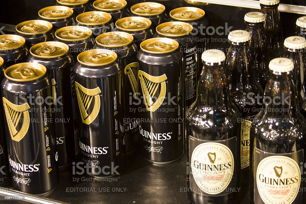 Guinness for sale stock photo