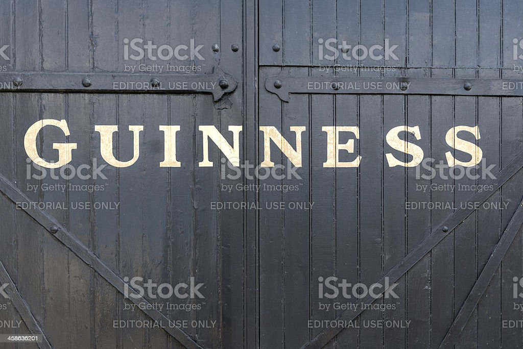 Guinness stock photo