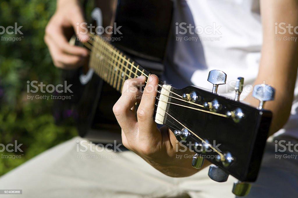 Guitar 02 royalty-free stock photo