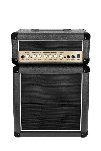 Guitar Amplifier Isolated stock photo
