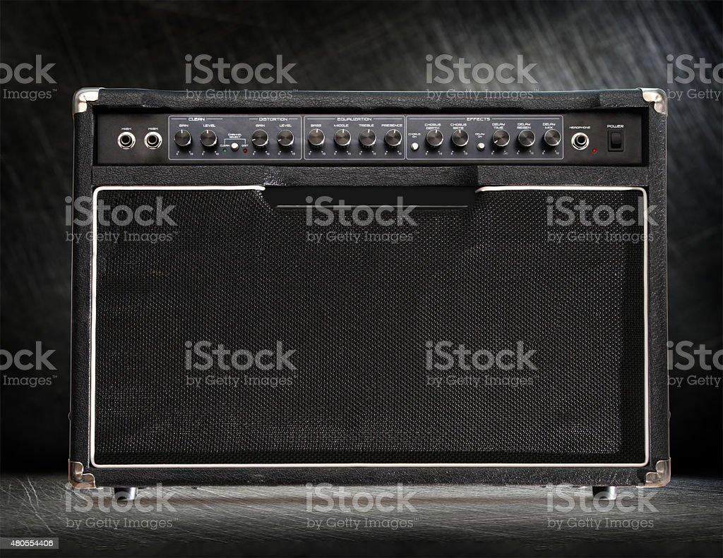 El Amplificador de la guitarra - foto de stock