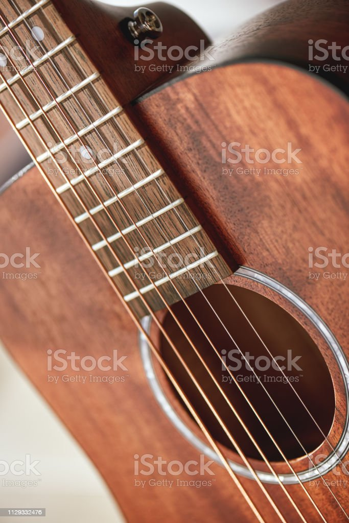 Guitar Anatomy Close Up Photo Of Acoustic Guitar Sound Hole With
