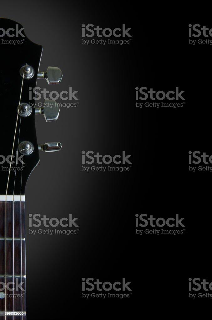 Gitarre und Musik Hintergrund – Foto