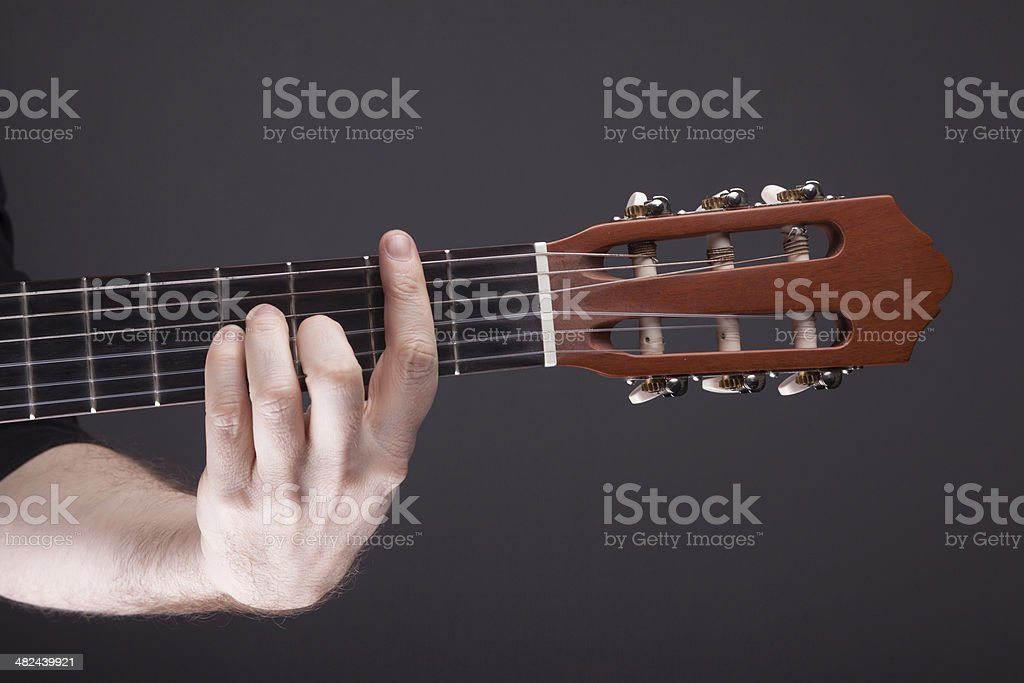 Guitar Chord Bm Stock Photo More Pictures Of Chord Istock