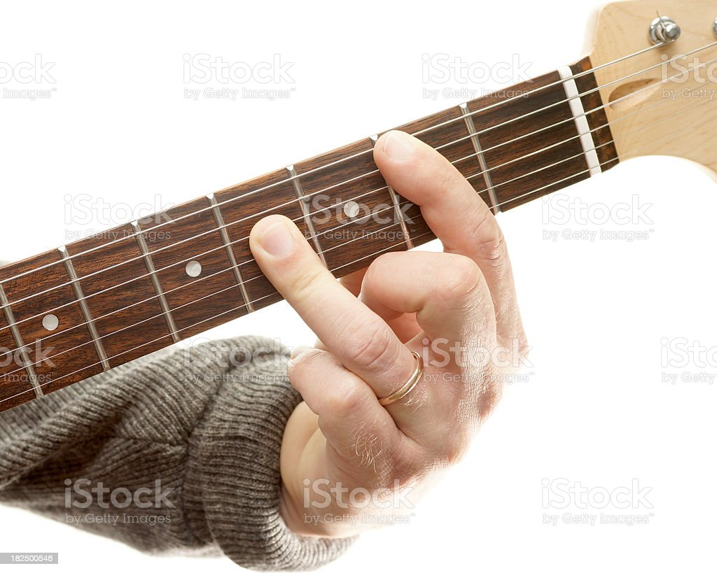 Guitar Chords Series B Major Stock Photo Istock