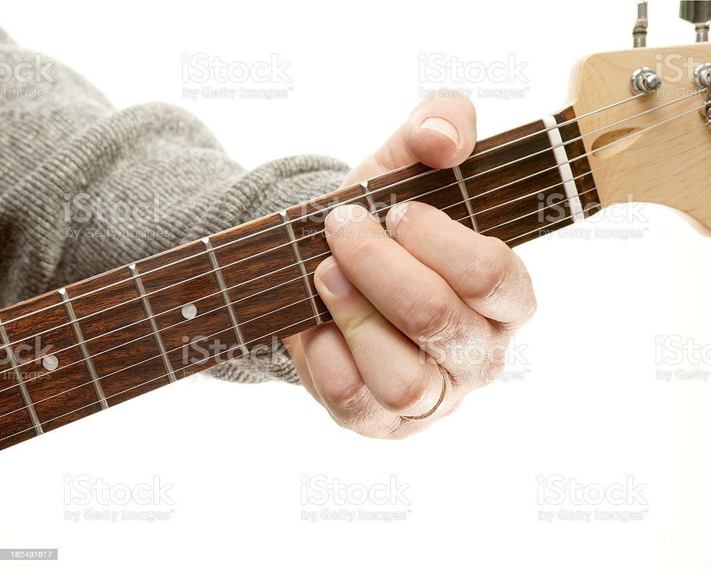 Guitar Chords Series Movable Ninth C9 Position Stock Photo More
