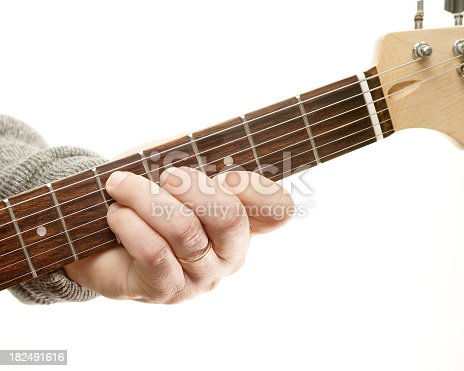 Guitar Chords Series Movable Seventh Chord D7 Position Stock Photo ...
