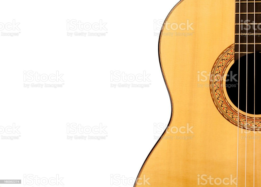 Guitar Close-up royalty-free stock photo