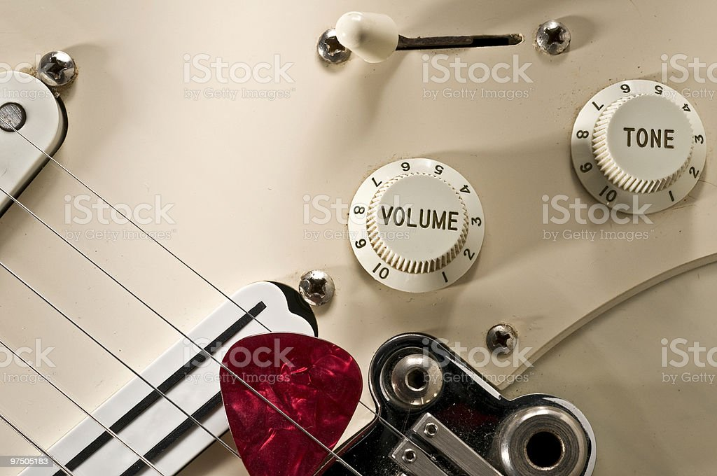Guitar Detail royalty-free stock photo