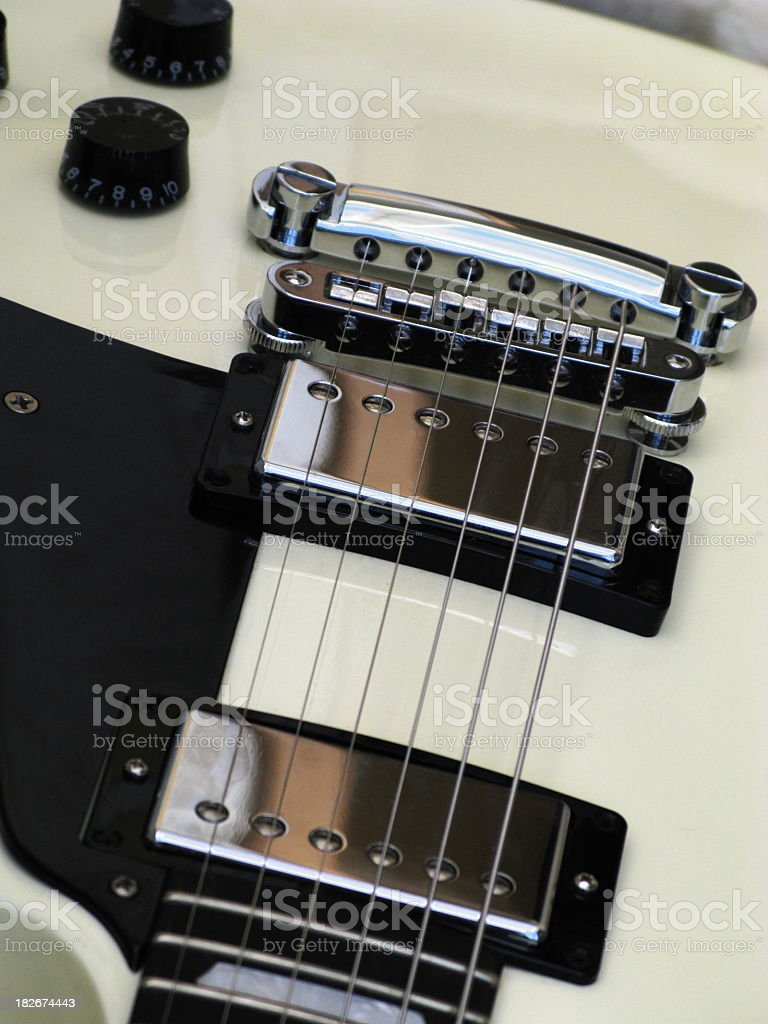 Guitar Electric Les Paul Musical String Instrument stock photo