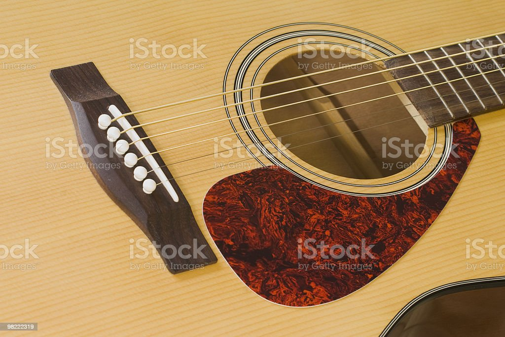 Guitar Face royalty-free stock photo