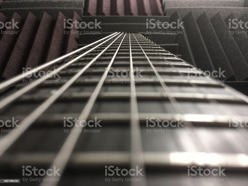 Guitar freatboard stock photo