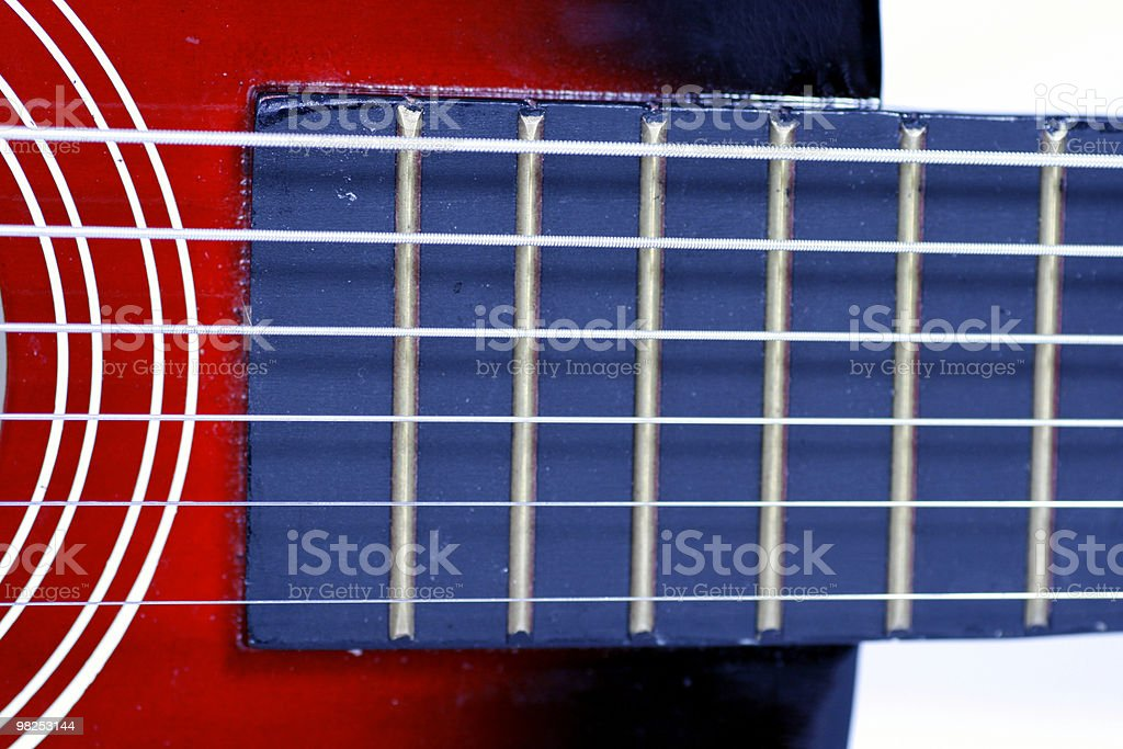 Guitar Fret royalty-free stock photo