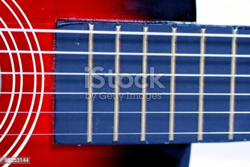 Guitar Fret Stock Photo & More Pictures of Acoustic Guitar